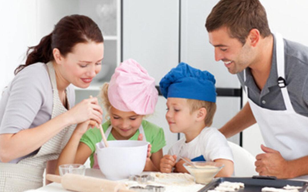 Cocinando Con Papá y Mamá